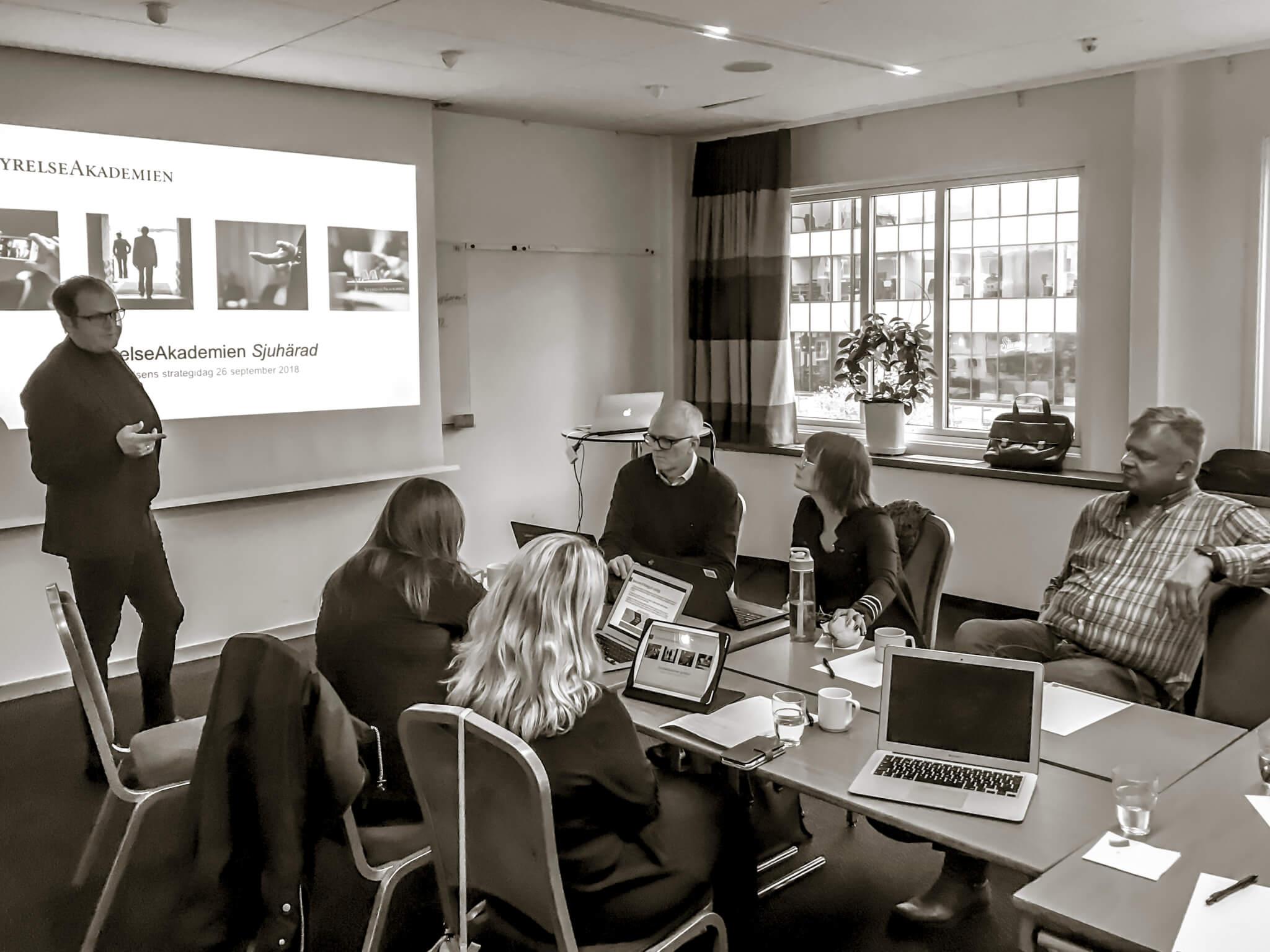 Workshop för StyrelseAkademien Sjuhärad